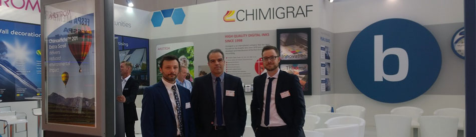 Chimigraf in 10th edition of Fespa Digital